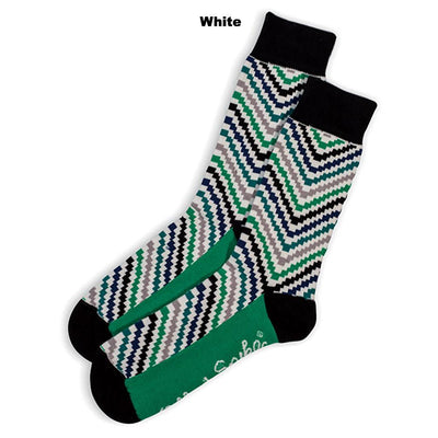 SOCKS - IN & OUT - AUSTRALIAN COTTON - White - 2-8