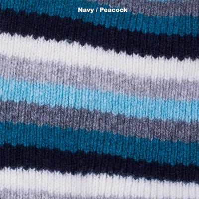 BEANIES FOR WOMEN - NUMERO UNO - LAMBSWOOL - Navy / Peacock -
