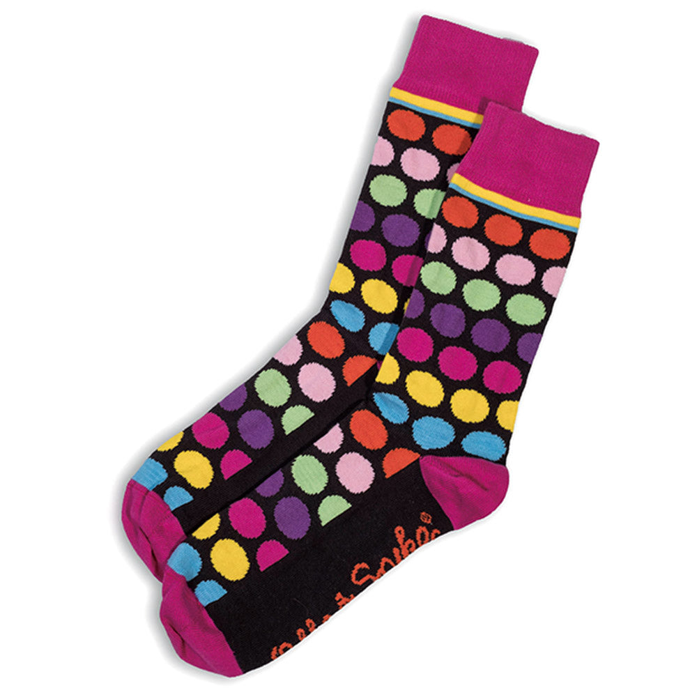 SOCKS - RAINBOW LOVE - AUSTRALIAN COTTON - Multi / Main Image - 2-8