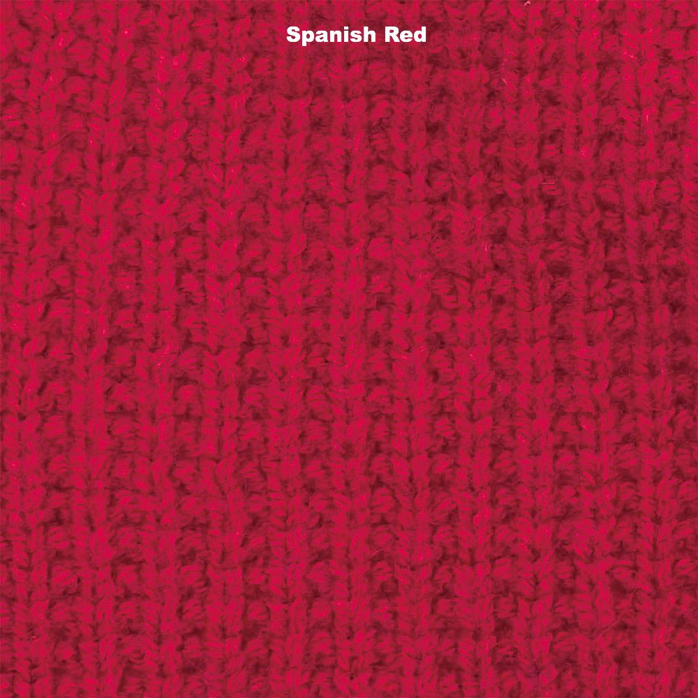 BEANIES - SURG - LAMBSWOOL - Spanish Red -