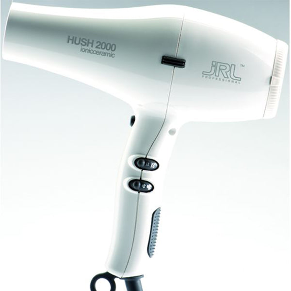 JRL HUSH2000 Dryer- white color test-hair-corner.myshopify.com COM'COM'STORE