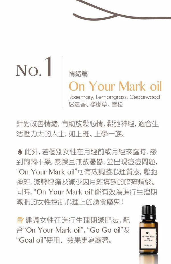 Body Purifier No.1 On your mark oil 20ml test-hair-corner.myshopify.com COM'COM'STORE