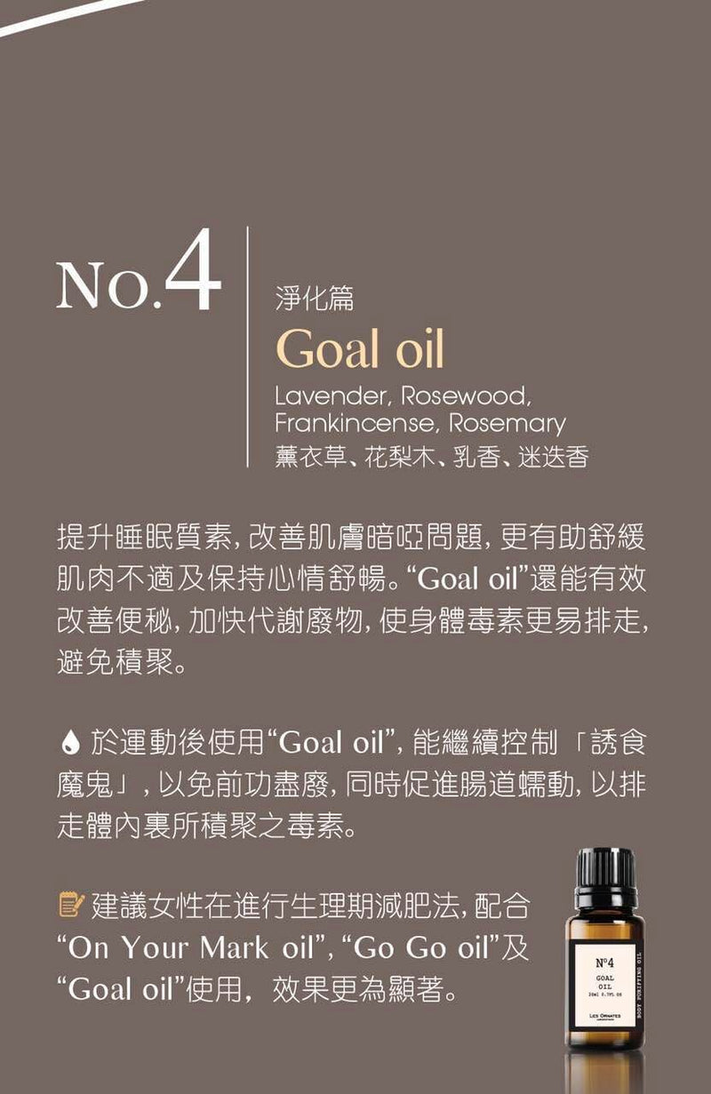 LES ORNATES Body Purifier No.4 Get set oil 20ml test-hair-corner.myshopify.com COM'COM'STORE