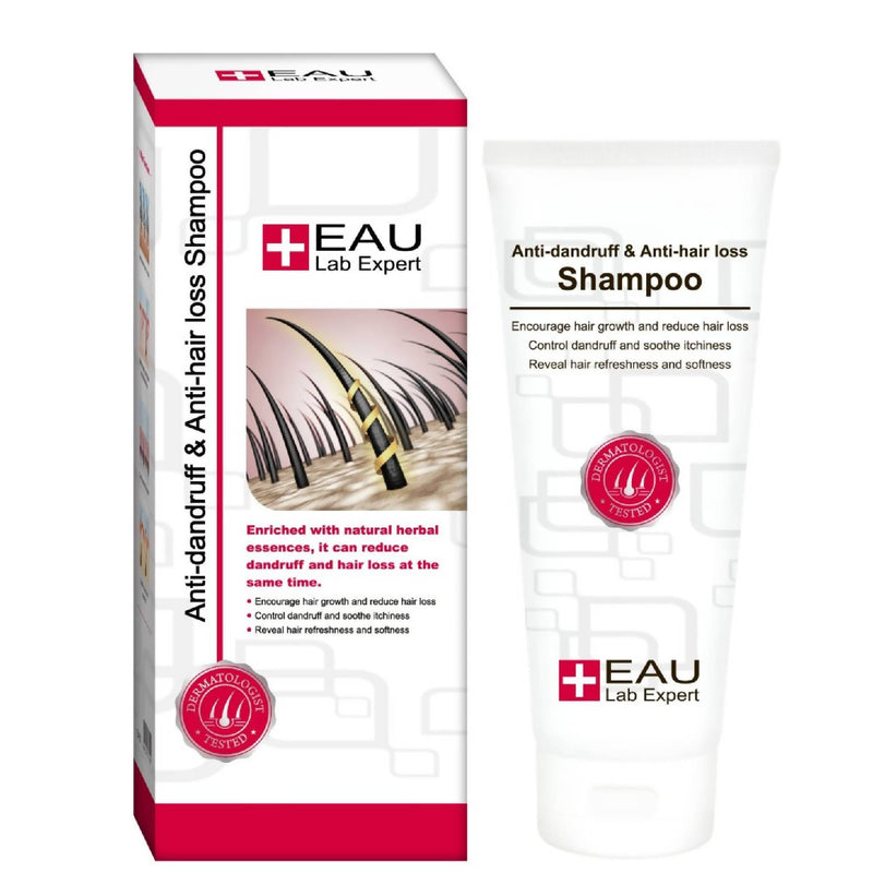 EAU Anti-Dandruff  and Anti-Hair Loss Shampoo 200ml test-hair-corner.myshopify.com COM'COM'STORE