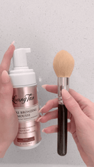 Mousse and brush