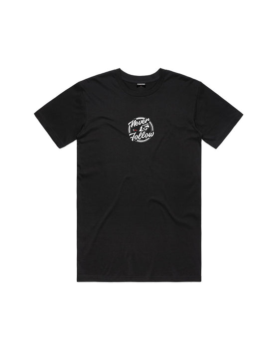 Command - Black Never Follow Tee