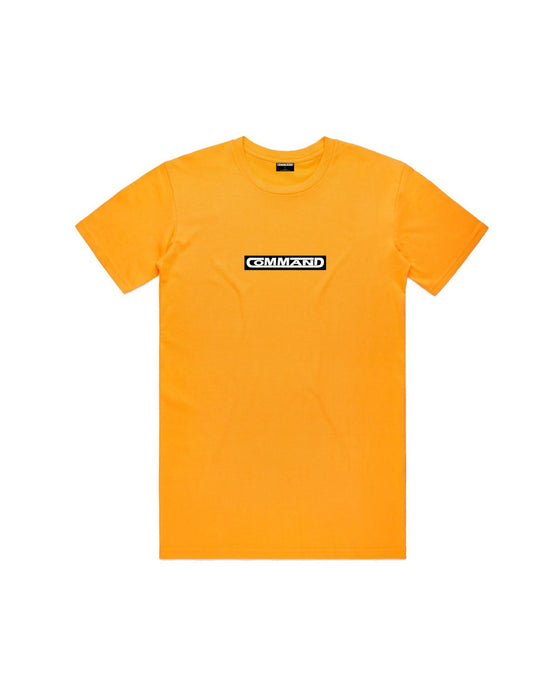 Command - Yellow Boxed Tee