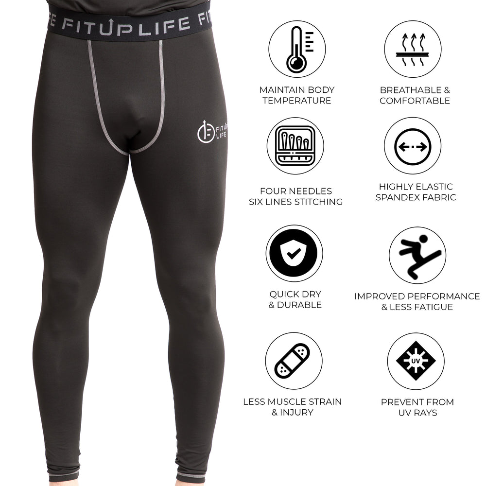 Men Full Compression Pants