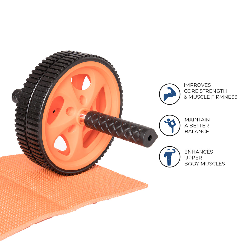 Double Wheel Abs Roller