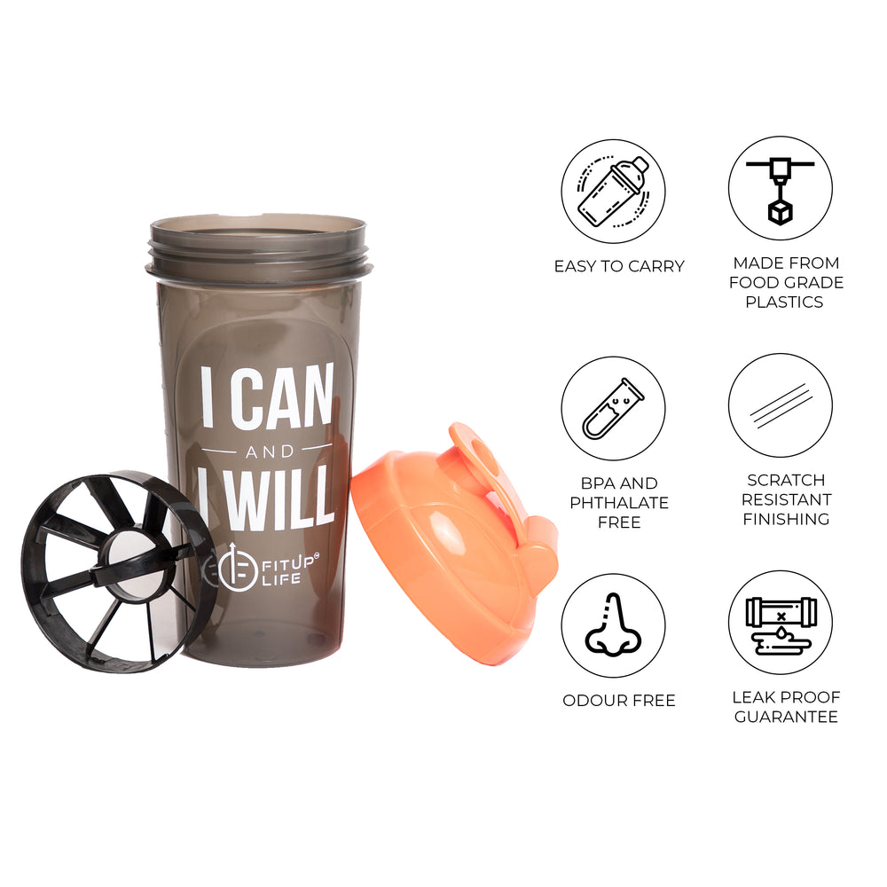 Gym Shaker 700ml - Fitup Life