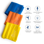 Exercise Bands Set of 3 - Fitup Life