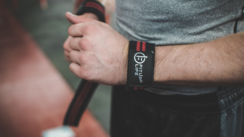 Lifting Grip Strap - Fitup Life