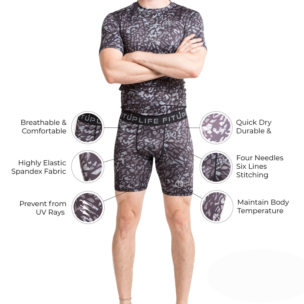Men Compression Shorts - Fitup Life