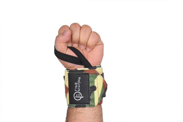 Camo Wrist Support - Fitup Life