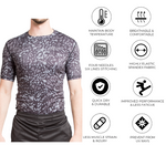 Men Half Sleeve Compression Tshirt