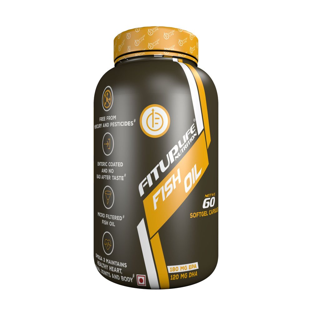 Fish Oil - Fitup Life
