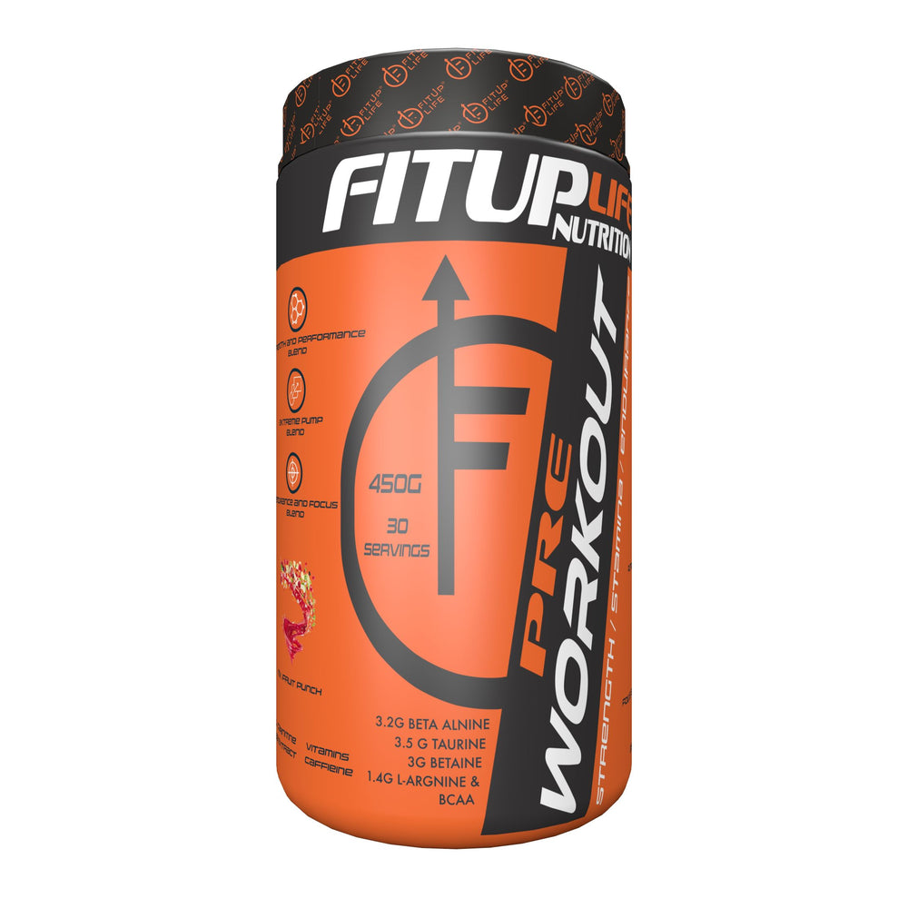 Preworkout (Mix Fruit) - Fitup Life