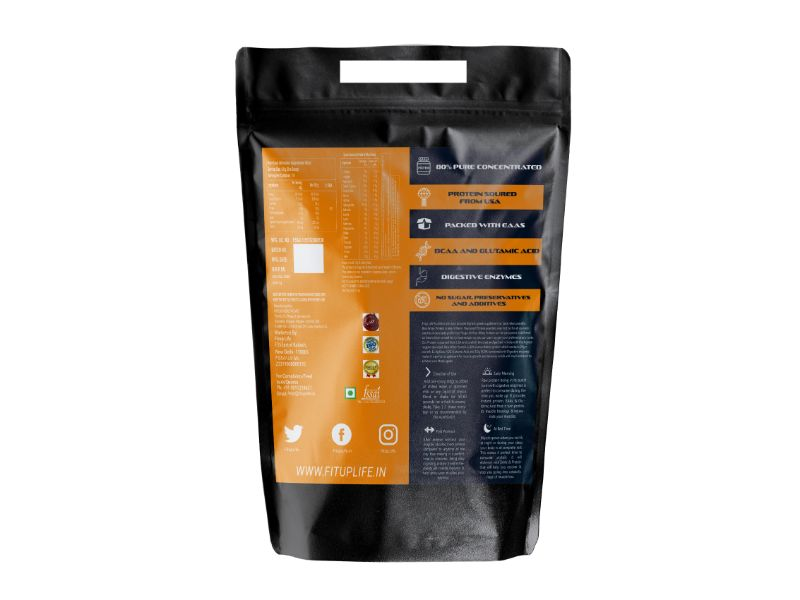 Raw Unflavoured Protein 1kg - Fitup Life
