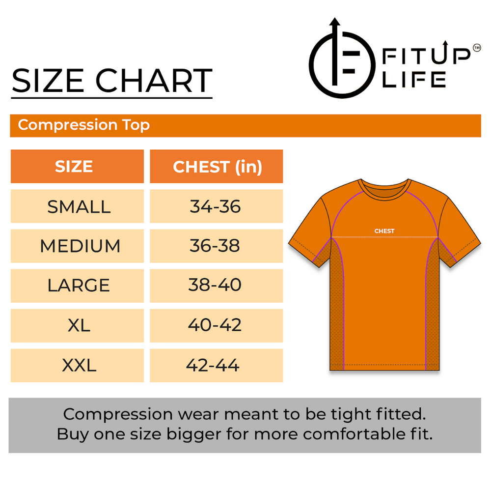 Men Black T-shirt - Fitup Life
