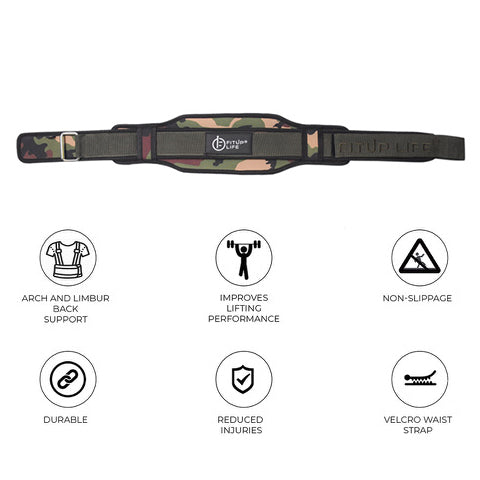 Green Camp belt