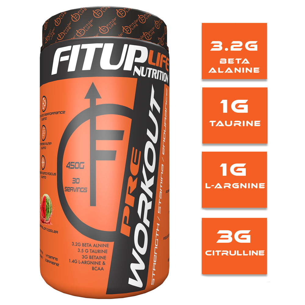 Preworkout (Watermelon) - Fitup Life