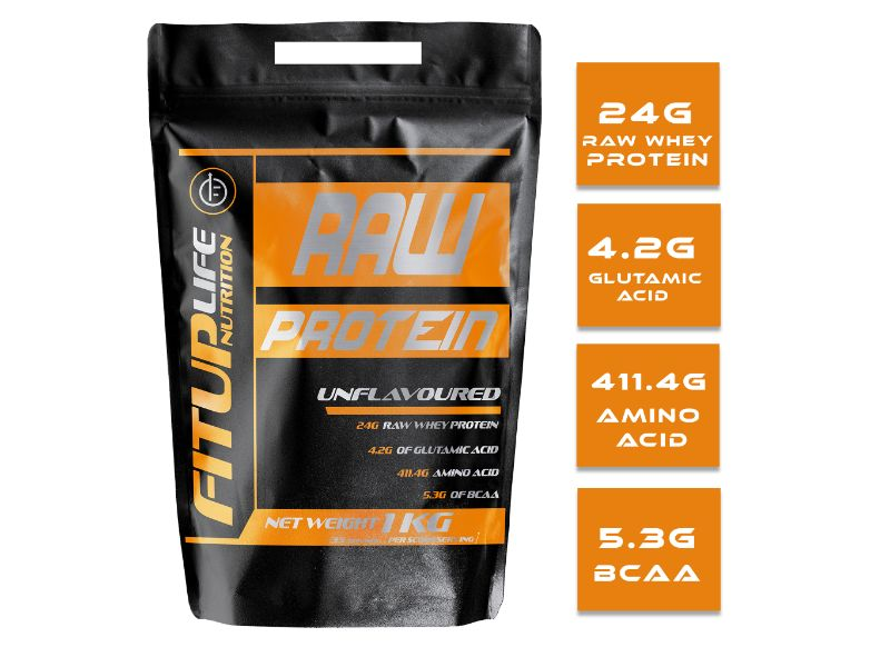 Raw Unflavoured Protein 1kg