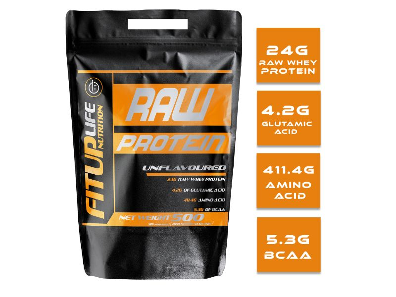 Raw Unflavoured Protein 500g