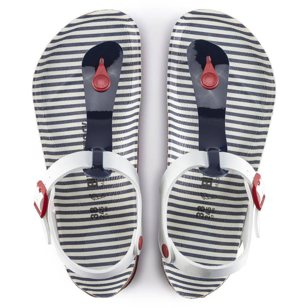 Birko-Flor Nautical Stripes Navy  White