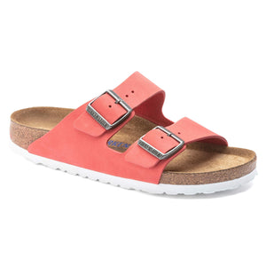 Arizona Nubuck Leather Coral