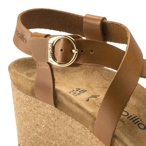 Sibyl Ring-Buckle Natural Leather