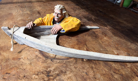 Henry Overboard limited edition sculpture