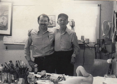 Don and Lem Ward in 1978