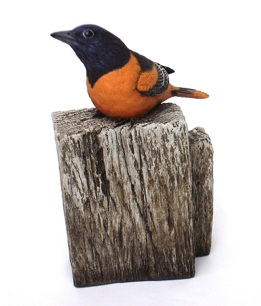 Baltimore Oriole Sculpture
