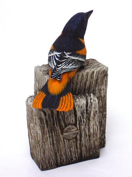 Baltimore Oriole Carving