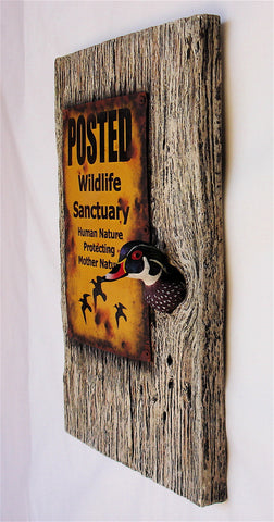 "Wood Duck ""Sanctuary"""