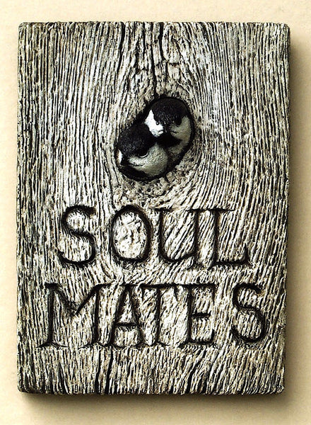 "Black-capped Chickadee Pair ""Soul Mates"""