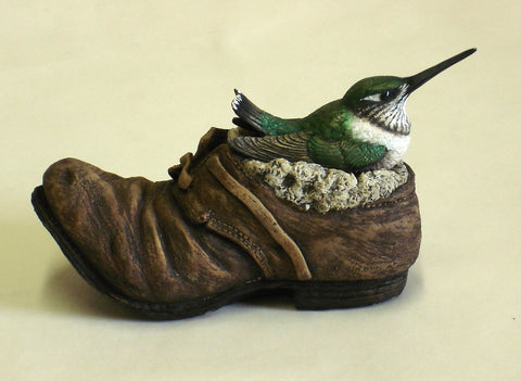 hummingbird figurine