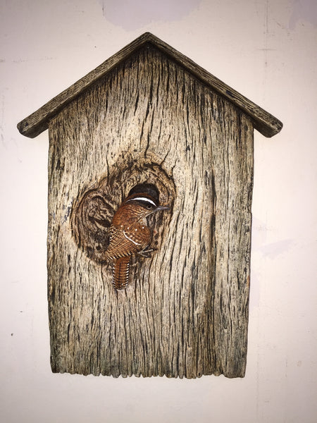 "Carolina Wren ""Birdhouse"""