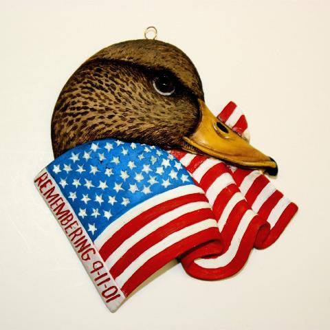 American Black Duck Christmas Tree Ornament