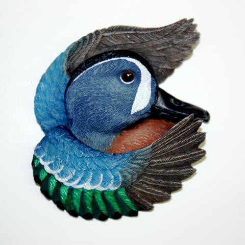 Blue-Winged Teal 2002 Christmas Tree Ornament