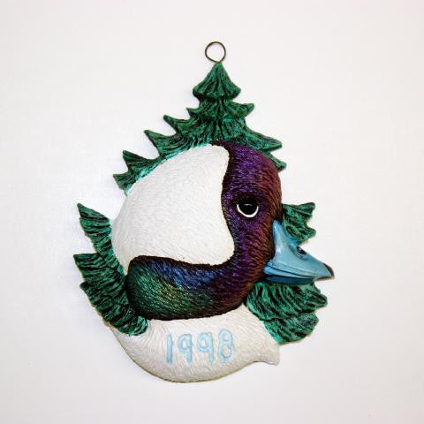 Bufflehead 1998 Christmas Tree Ornament