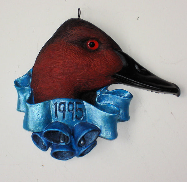 Canvasback 1995 Christmas Tree Ornament