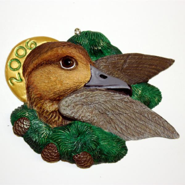 Fulvous Tree Duck Christmas Tree Ornament
