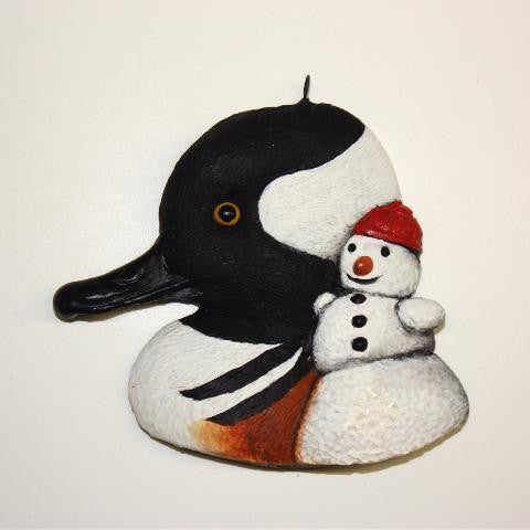 Hooded Merganser Christmas Tree Ornament