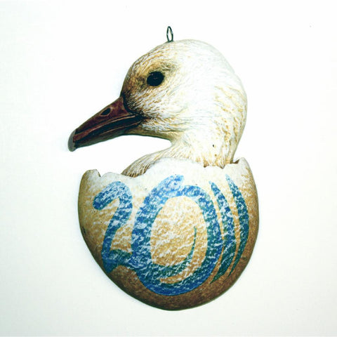 Snow Goose Christmas Tree Ornament