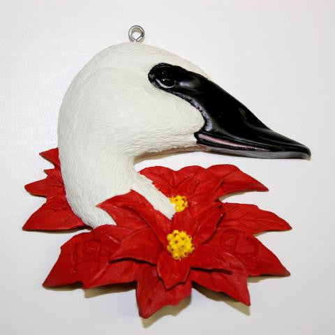Trumpeter Swan Christmas Tree Ornament