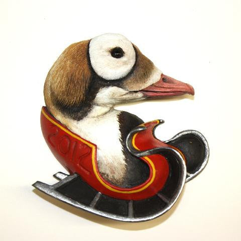 Spectacled Eider 2012 Christmas Tree Ornament