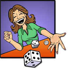 Bunco Dice Lady