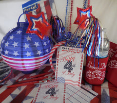 4th of July Box Bunco Party Box
