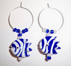 Bunco Wine Charms - Fishy